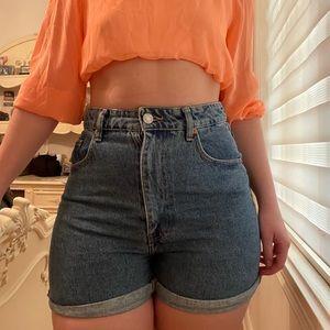 Denim Shorts Zara
